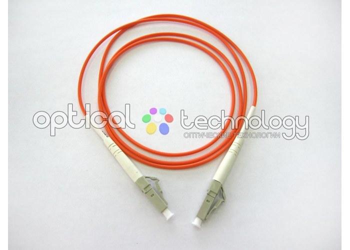 Шнур оптический соединительный LC-LC 50/125 (simplex) многомодовый. Оптиче